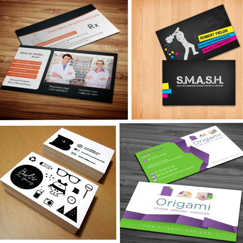 Double sided business cards creative ideas for your business creative double sided business cards design reheart Images