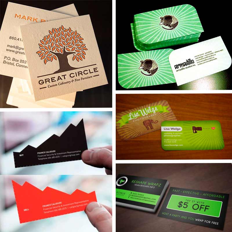 Double Sided Business Cards Creative Ideas For Your Business - Two sided business card template