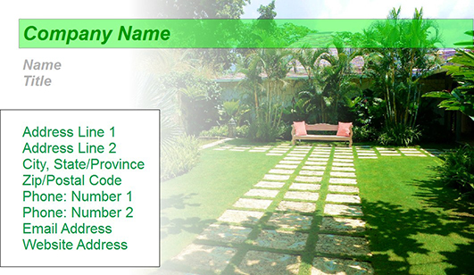 Landscaping design business card templates juicybc blog landscaping template wajeb Choice Image