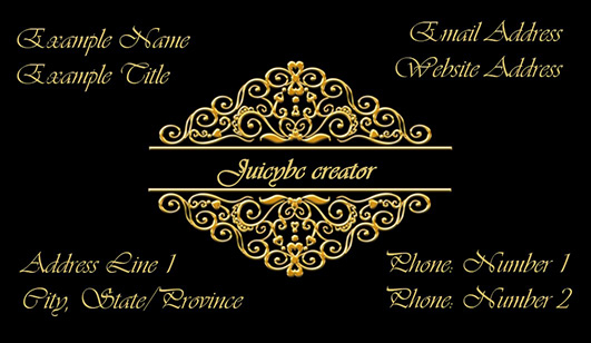 Elegant business cards design secrets and examples juicybc blog simple elegant business cards design colourmoves