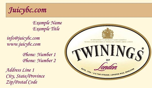 Easy business card designer