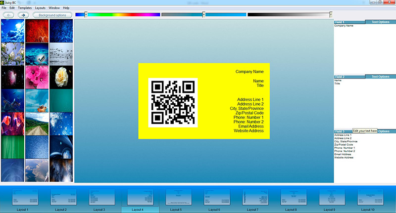 QR code business card tutorial: step 4-2
