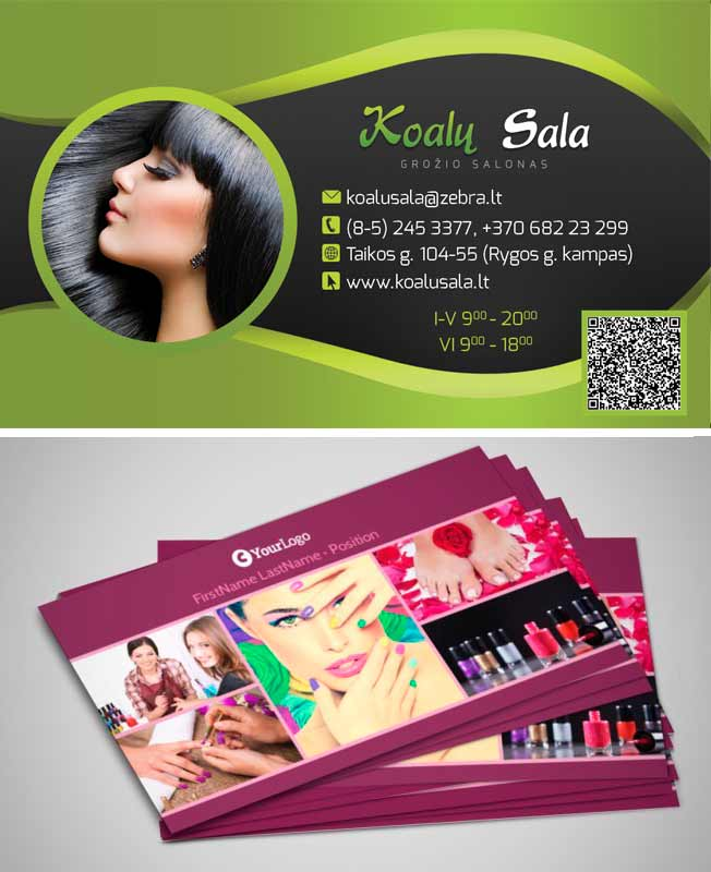 Salon Business Cards Quick Tips And Unusual Ideas Juicybc Blog